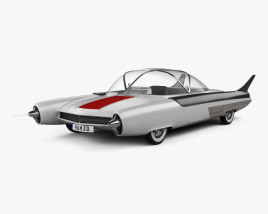 3D model of Ford FX Atmos 1954