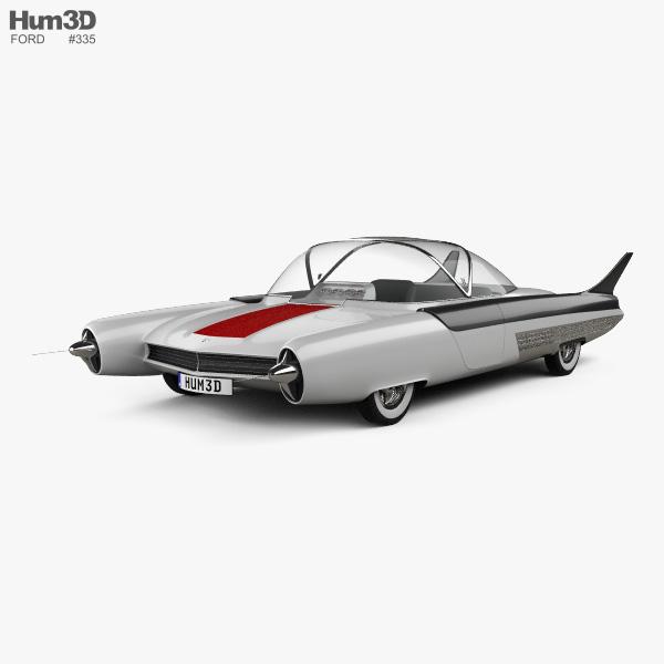 Ford FX Atmos 1954 3D model