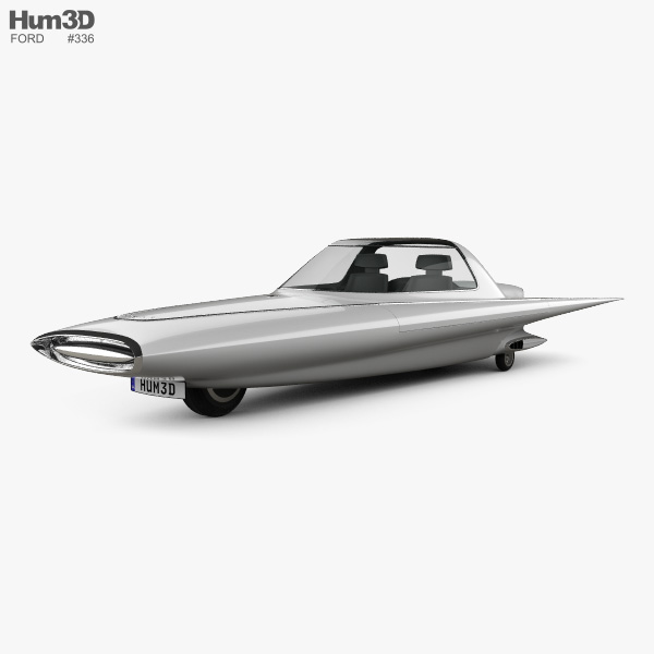 3D model of Ford Gyron 1961