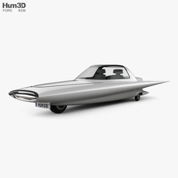 Ford Gyron 1961 3D model