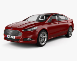 Ford Mondeo hatchback 2014 3D model