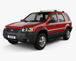 3D model of Ford Escape XLT 2001