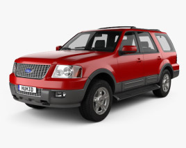 3D model of Ford Expedition 2003