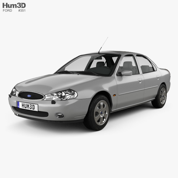 Ford Mondeo sedan 1996 3D model