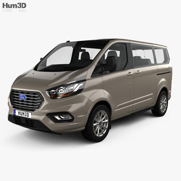 Ford Tourneo Custom L1 2017 3D model