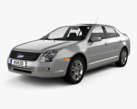 3D model of Ford Fusion SEL 2006