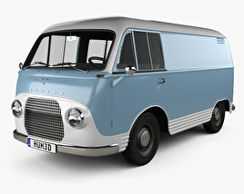 3D model of Ford Taunus Transit FK1250 1963
