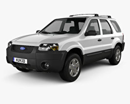 3D model of Ford Escape XLT Sport 2003