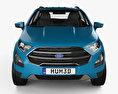 Ford Ecosport Titanium 2017 3d model