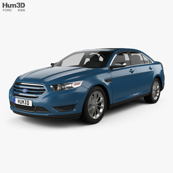 3D model of Ford Taurus Limited 2013