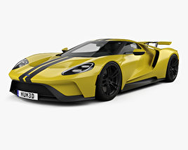 3D model of Ford GT 2017