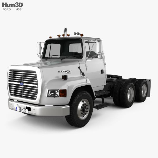 Ford Aeromax L9000 Tractor Truck 1995 3D model