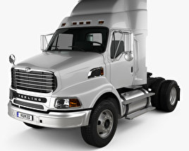 3D model of Ford Sterling A9500 Tractor Truck 2006