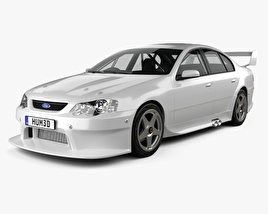 3D model of Ford Falcon V8 Supercars 2009