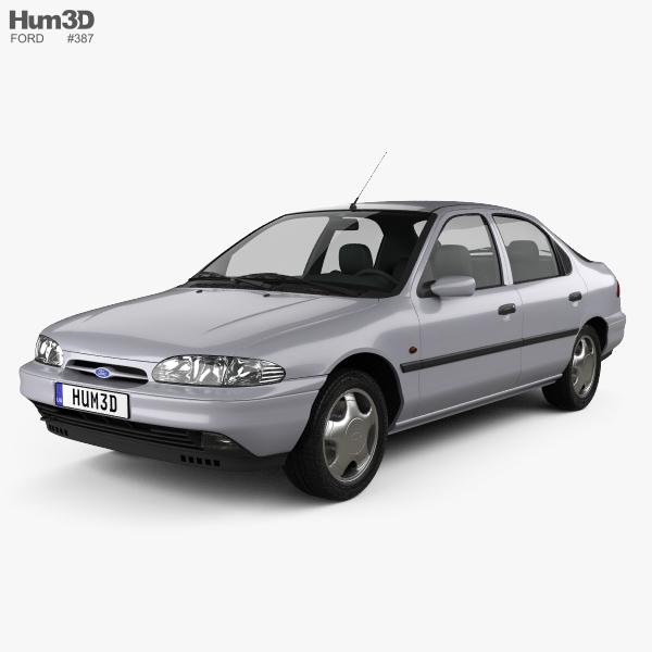 Ford Mondeo hatchback 1993 3D model