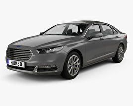 3D model of Ford Taurus CN-spec 2016
