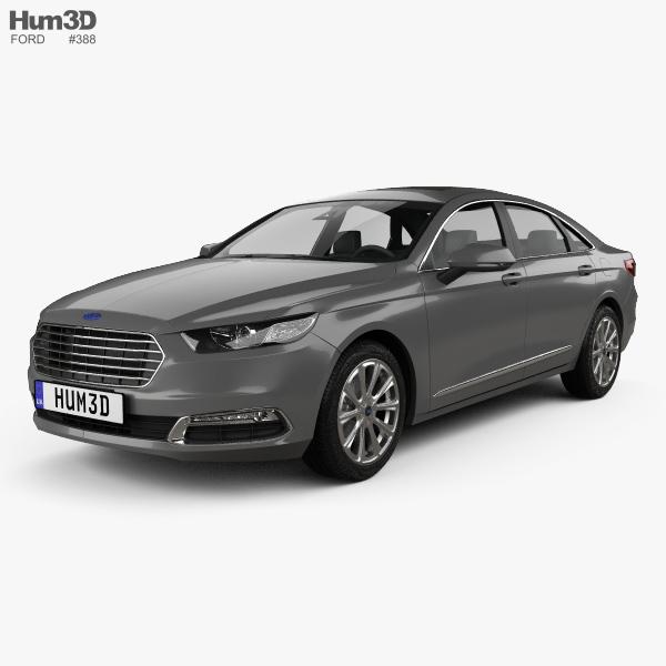 Ford Taurus CN-spec 2016 3D model