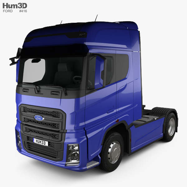 Ford F-Max Tractor Truck 2018 3D model