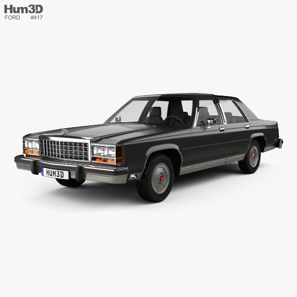 Ford LTD Crown Victoria 1983 3D model