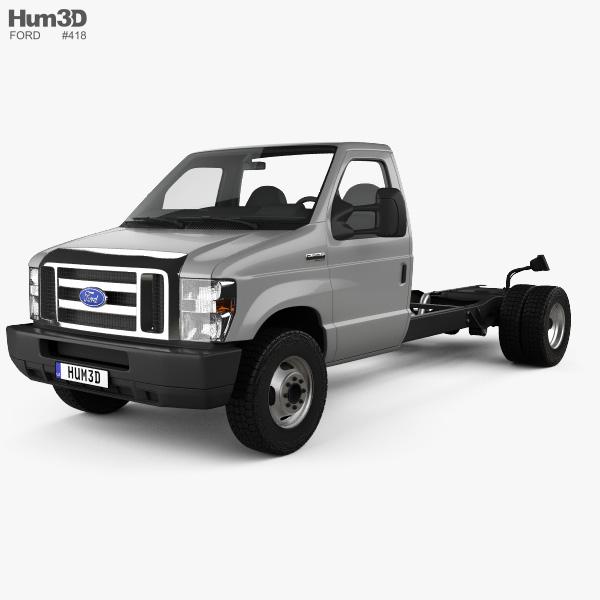 Ford E-350 Cutaway L2 2018 3D model