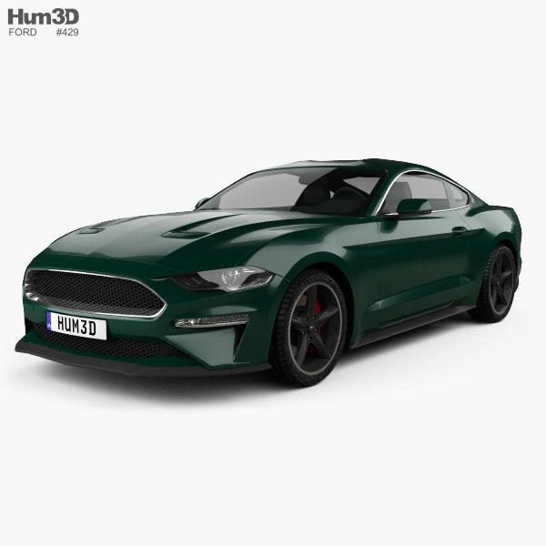 Ford Mustang Bullitt coupe 2019 3D model