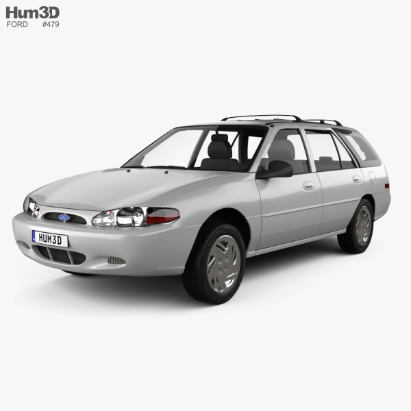 Ford Escort wagon 1997 3D model