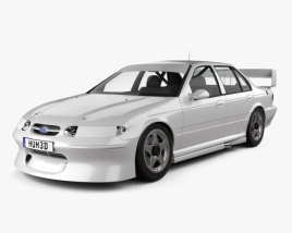 3D model of Ford Falcon V8 Supercars 1996