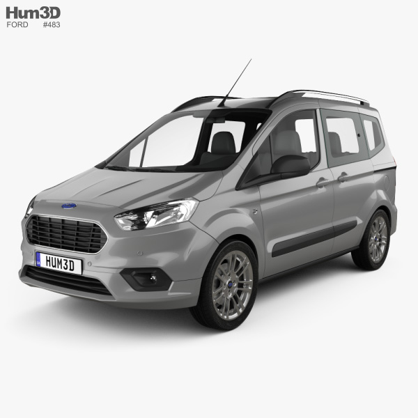 Ford Tourneo Courier 2018 3D model
