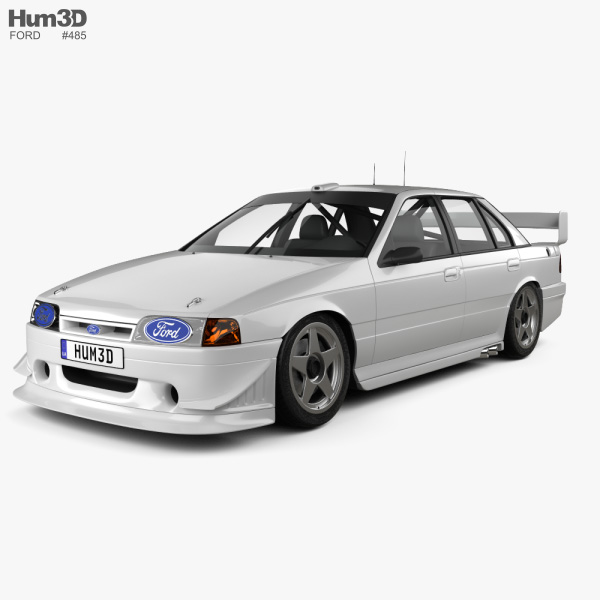 Ford Falcon V8 Supercars 1993 3D model