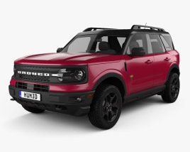 Ford Bronco Sport 2021 3D模型