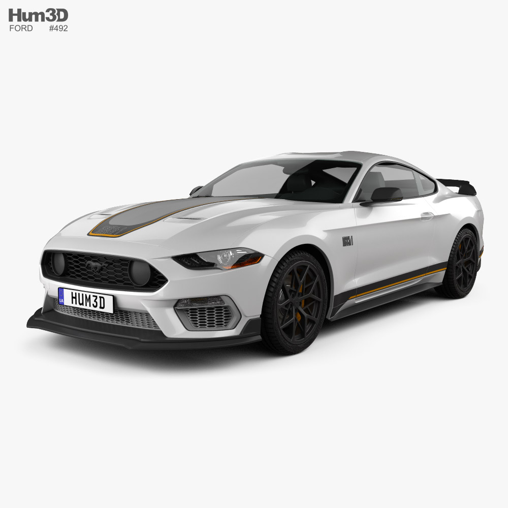 Ford Mustang Mach 1 Handling Package 2021 3D model
