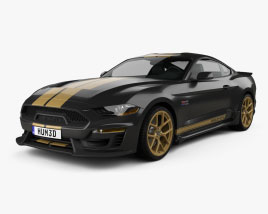 Ford Mustang Shelby GT-H coupe 2019 3D model