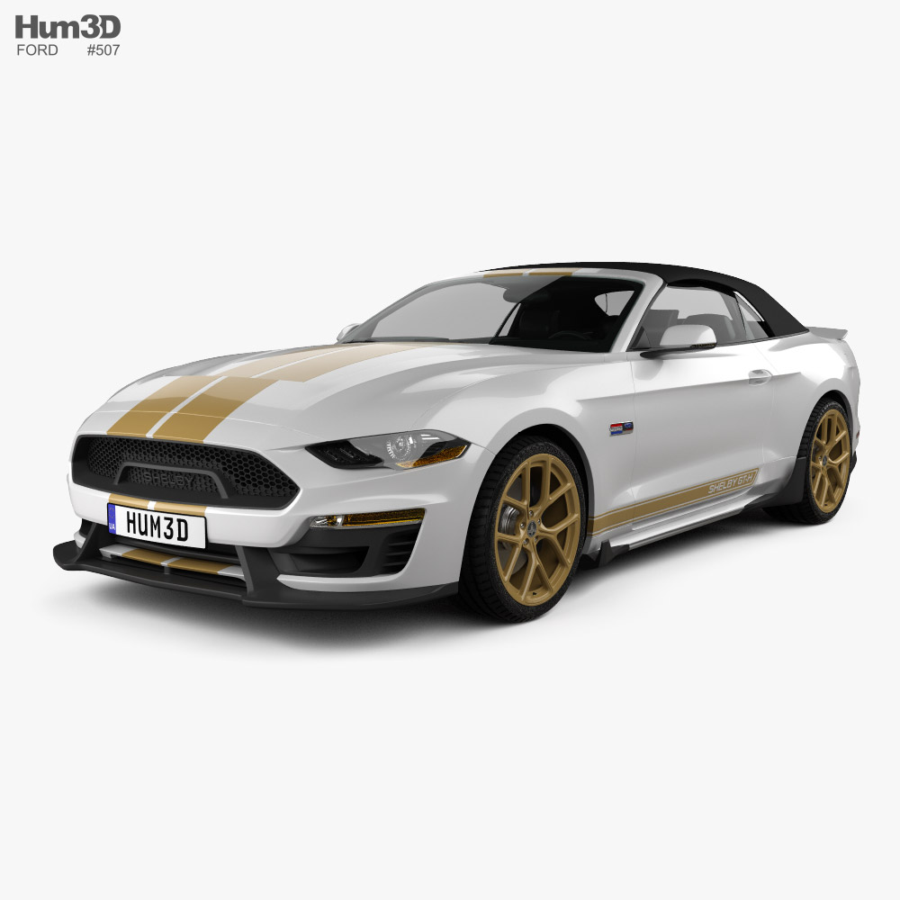 Ford Mustang Shelby GT-H convertible 2019 3D model