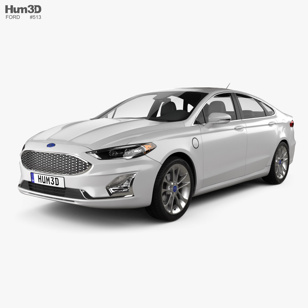 Ford Fusion Energi 2018 3D model