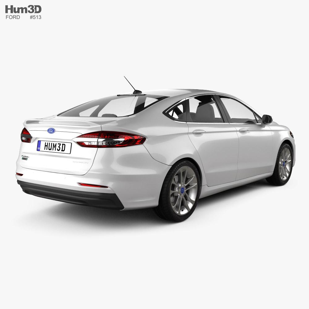 Ford Fusion Energi 2018 3d model