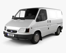 Ford Transit Fourgon L1H1 1994 Modèle 3D