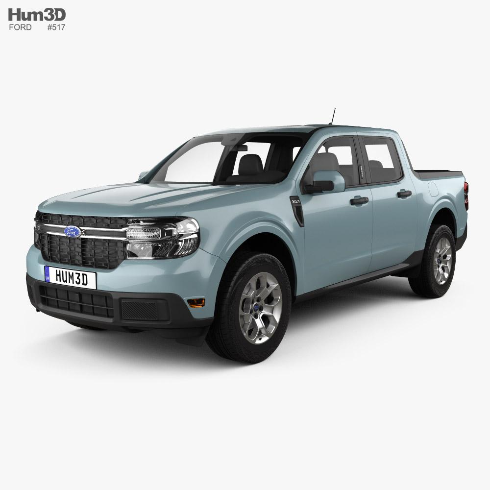 Ford Maverick Hybrid XLT 2021 3D model