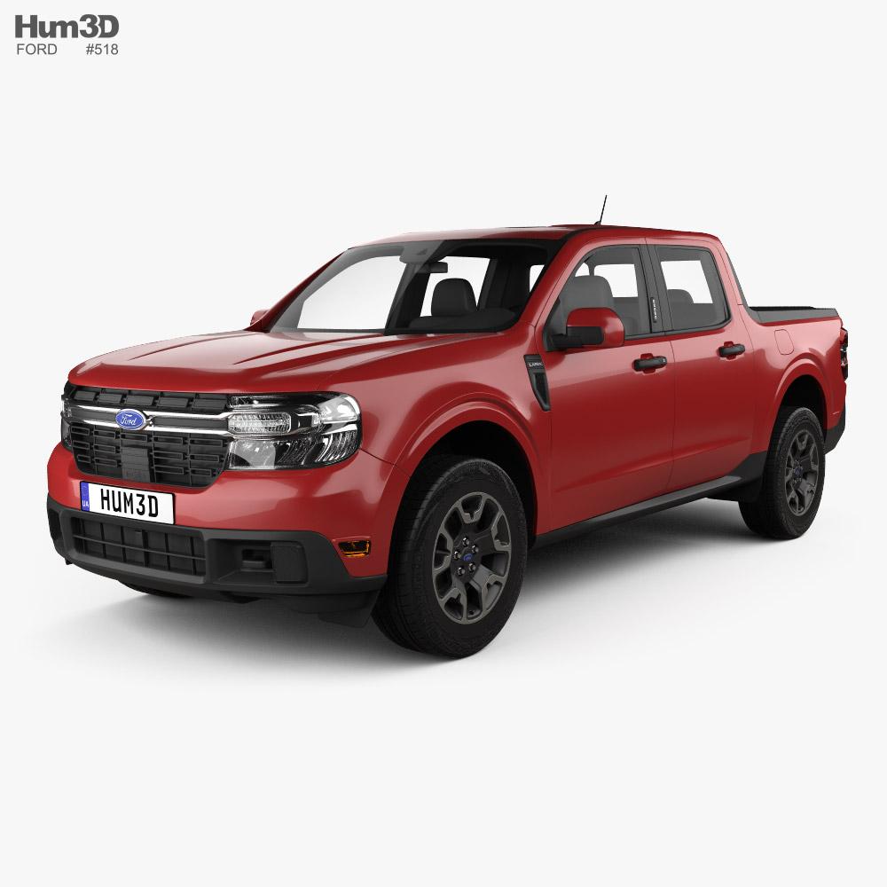Ford Maverick Lariat 2021 3D model