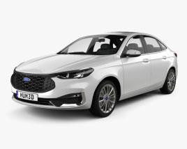 Ford Escort Titanium 2021 Modèle 3D