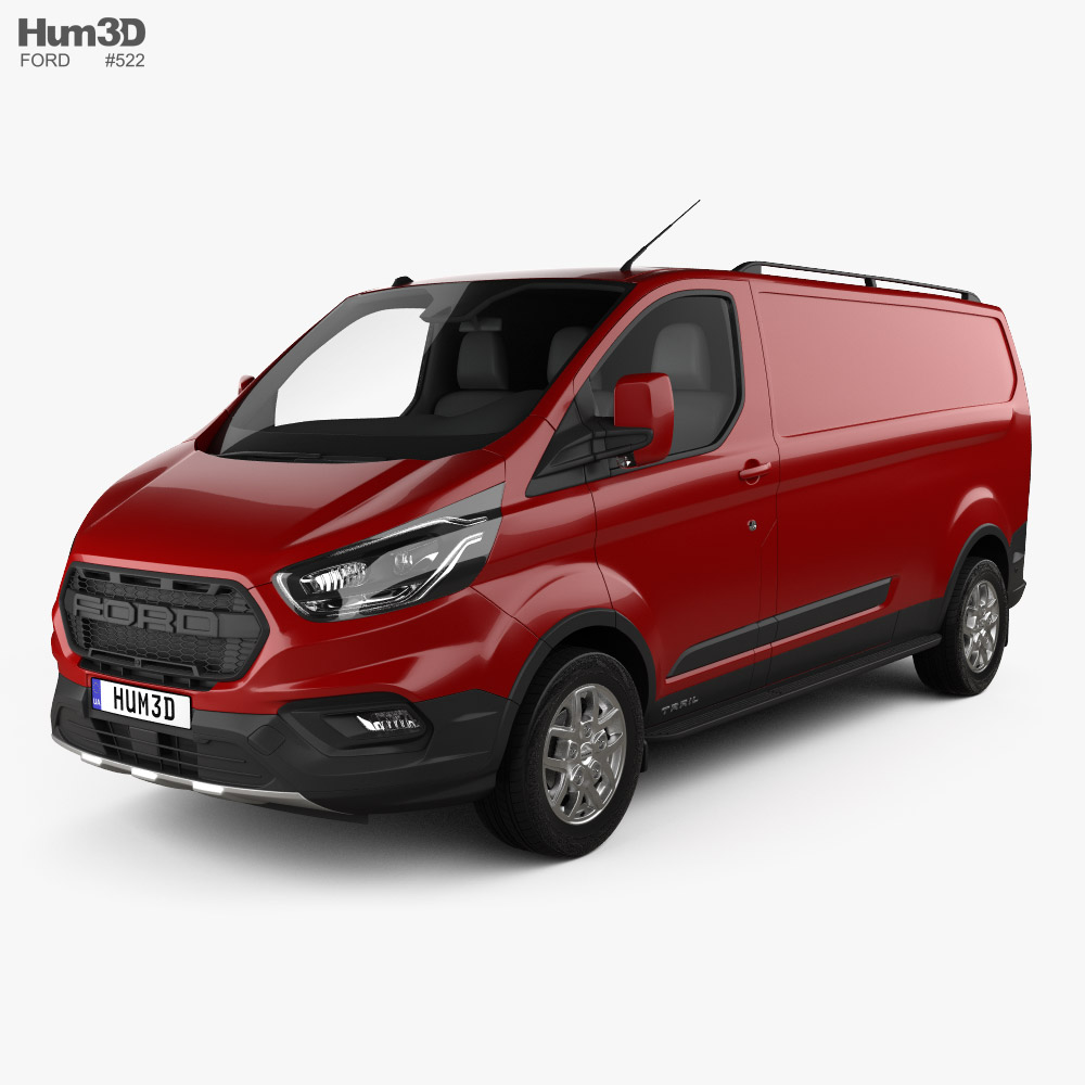 Ford Transit Custom Panel Van L2H1 Trail 2020 3D model