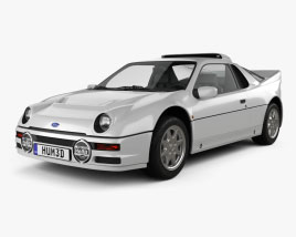 Ford RS200 1984 3D model