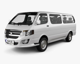 3D model of Foton View C 2012