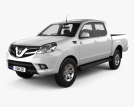 3D model of Foton Tunland Double Cab 2012