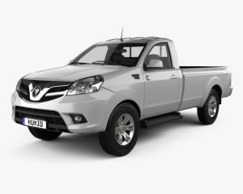 3D model of Foton Tunland Single Cab 2012