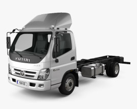 3D model of Foton Aumark C (1015) Chassis Truck 2-axle 2010