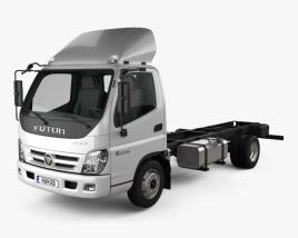 Foton Aumark C (1015) Chassis Truck 2-axle 2010 3D model