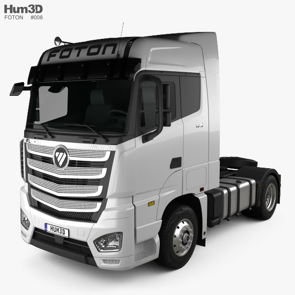 Foton Auman H5 Tractor Truck 2018 3D model