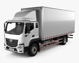 Foton Aumark S Box Truck 2017 3D model