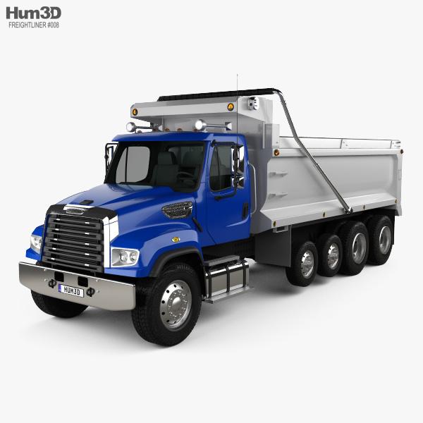 Freightliner 114SD Dump Truck 2011 3D model
