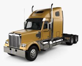 3D model of Freightliner Coronado Tractor Truck 2009